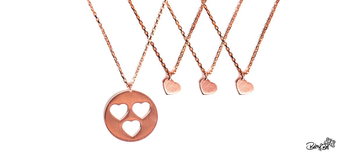 Halskette 'Carry Collier rose' von BEKKA&BELL